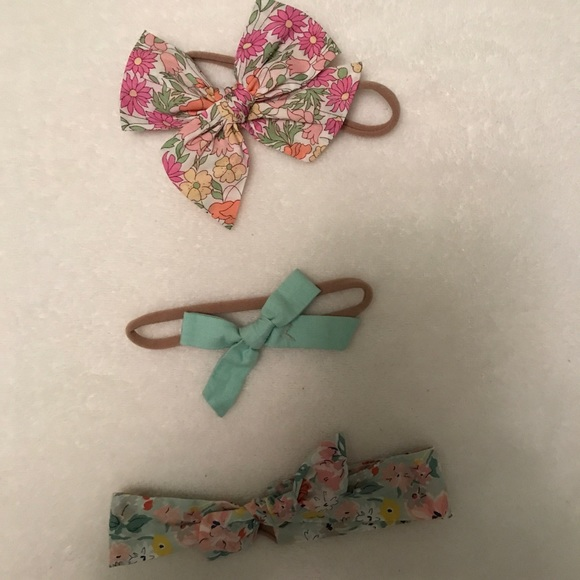 Other - Wunderkin Baby bows and knit headbands